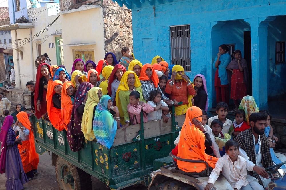 India, folkerikt og fargerikt, hvorhen du reiser.