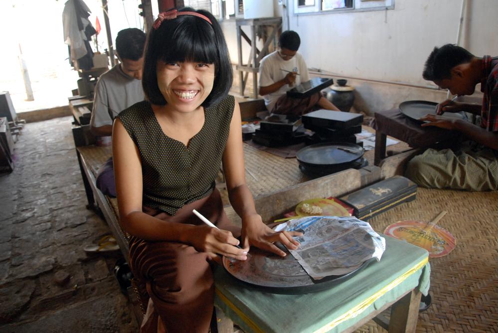 Sier ja til turister i Burma