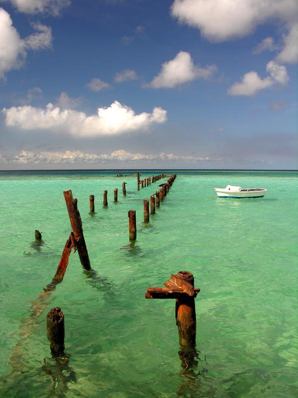 Aruba Christine 0709 Grønt vann