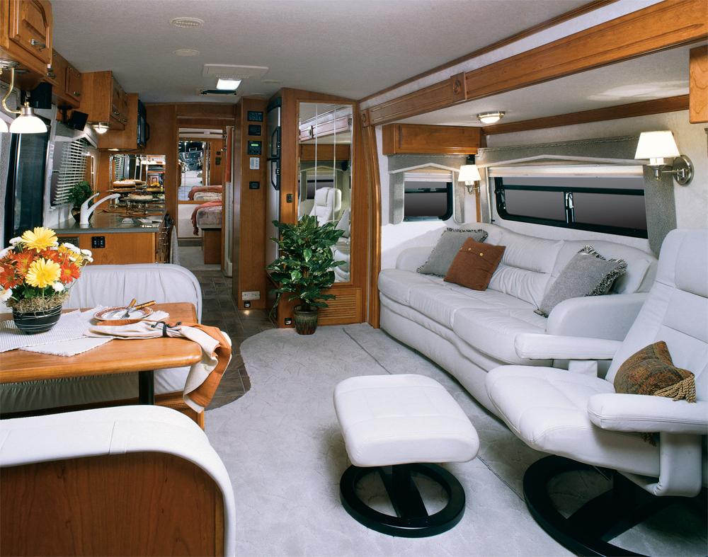 Caravan Bobil 0608 Interiør