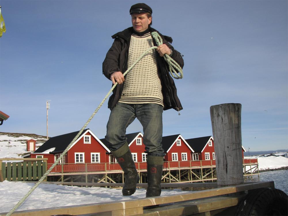 Finnmark Mehamn Fiske 0703 Brygga