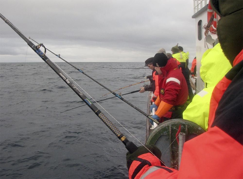 Finnmark Mehamn Fiske 0703 Fiskere