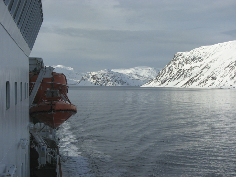 Finnmark Mehamn Fiske 0703 Hurtigruten