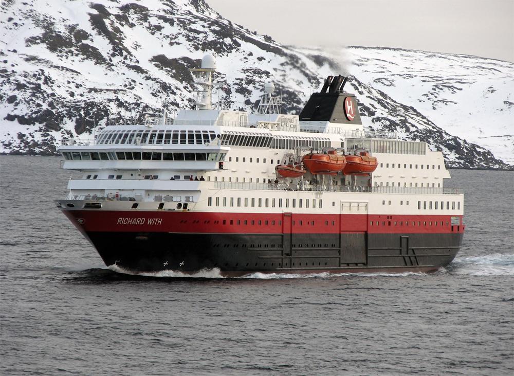Finnmark Mehamn Snøscooter 0703 Hurtigruten