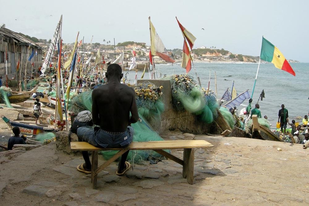 Ghana 0807 Fiskermenn