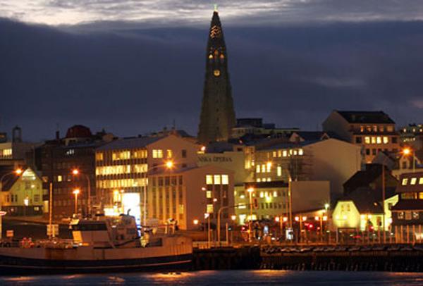 Reykjavik en moderne kulturby