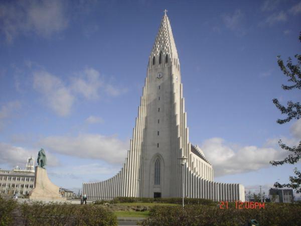 Island Reykjavik Trendy 0704 Kirke