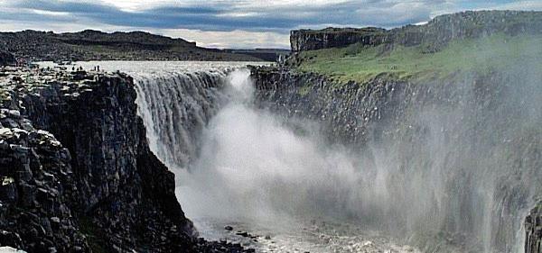 Island Rundtur 0609 Dettifoss foss