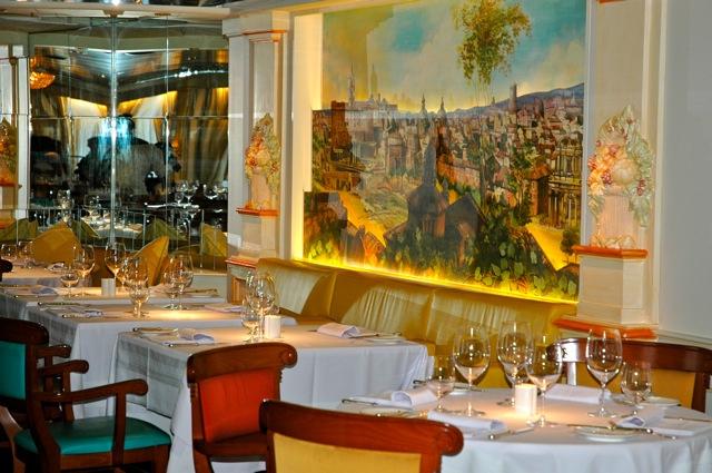 Italia 1103 Cruise Gubbhild Den italienske restauranten