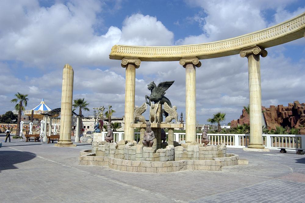 Karthago 0611 Park inngang