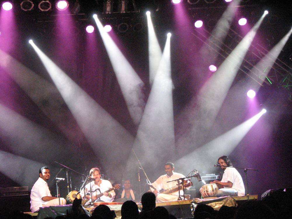 Malaysia Musikkfestival Sarawak 0807 Gruppe