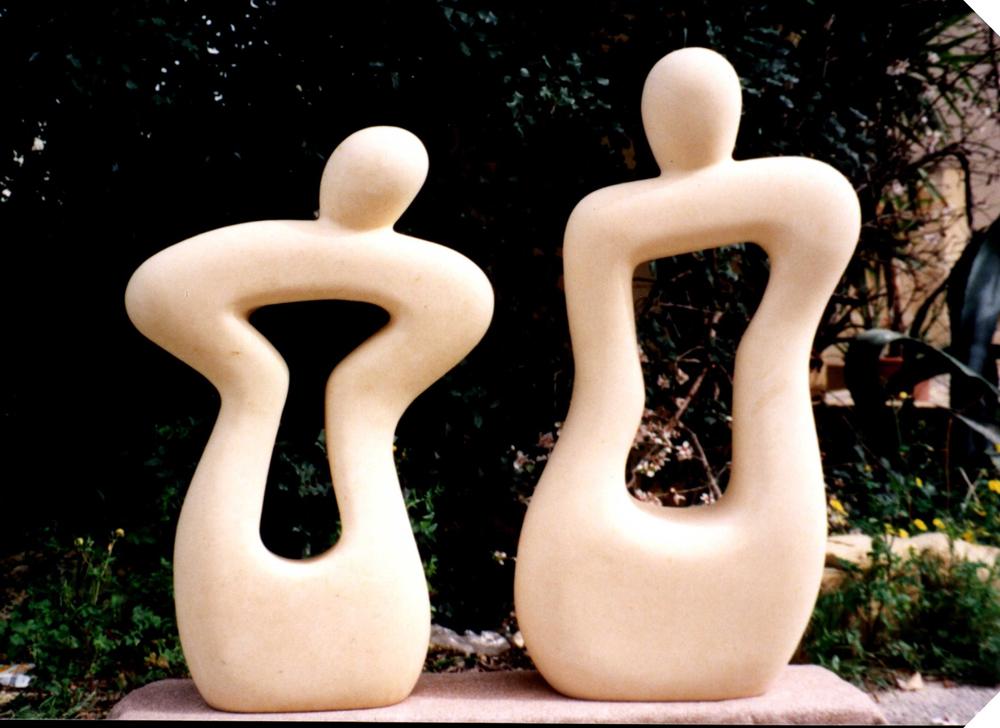 Malta Seniorer 2012-01-19 Dobbeltskulptur