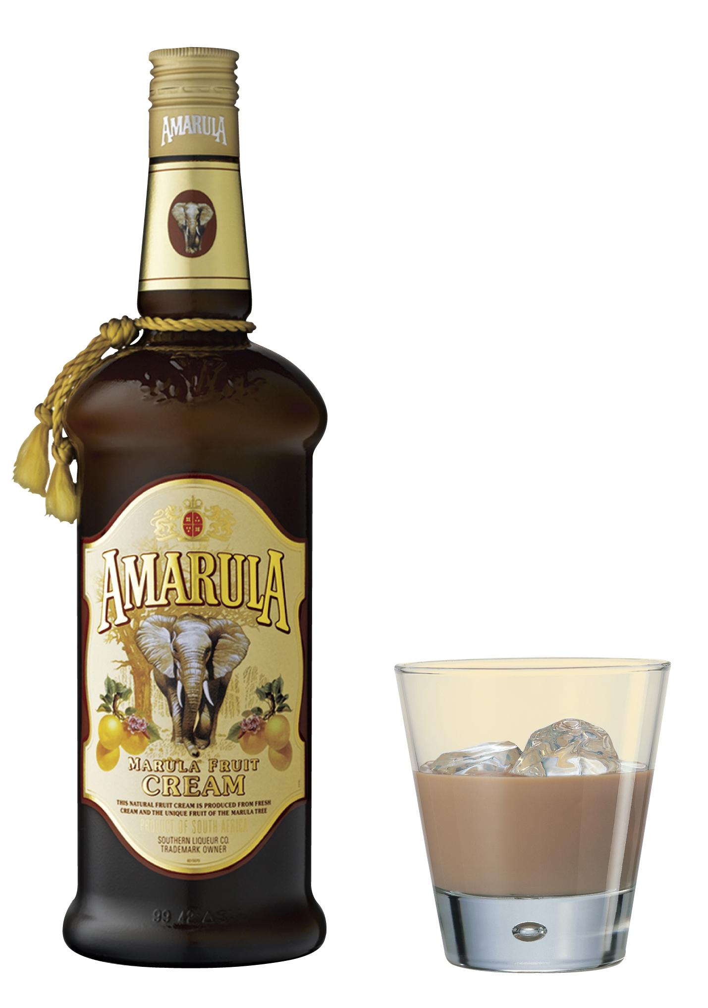 MatDrikke Amarula 0711 - Flaske og glass