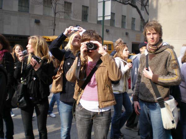 New York 0704 Turister