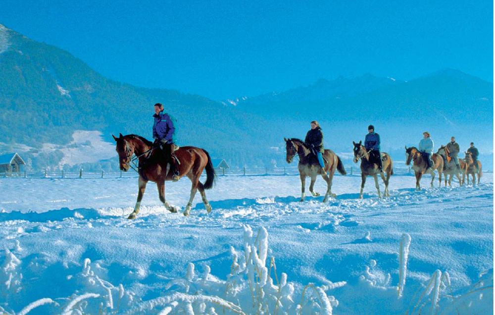 Østerrike Sportregion 0701 Hester
