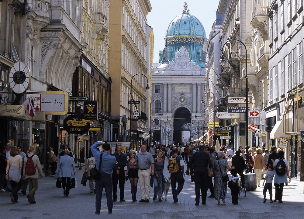 Østerrike - Wien - Vin 0810 Kohlmarkt