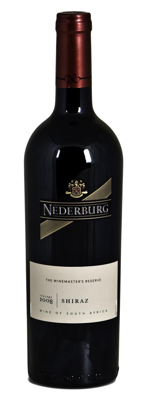 RJ RL VVS Nederburg WMR Shiraz Flaske