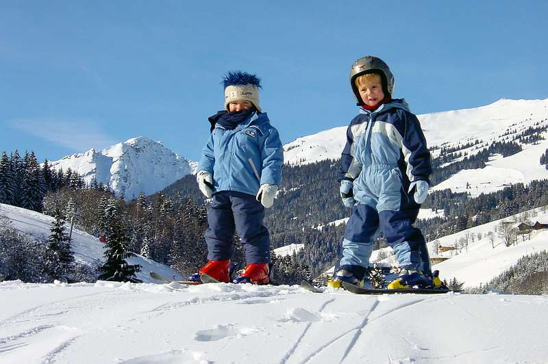 Saalbach Skisircus 0611 2 barn