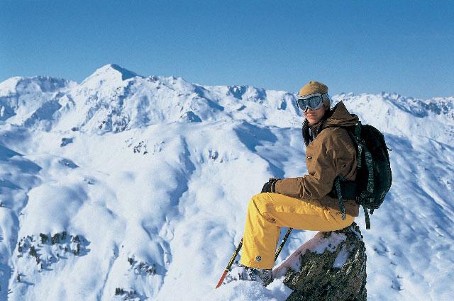 Saalbach Skisircus 0611 På toppen