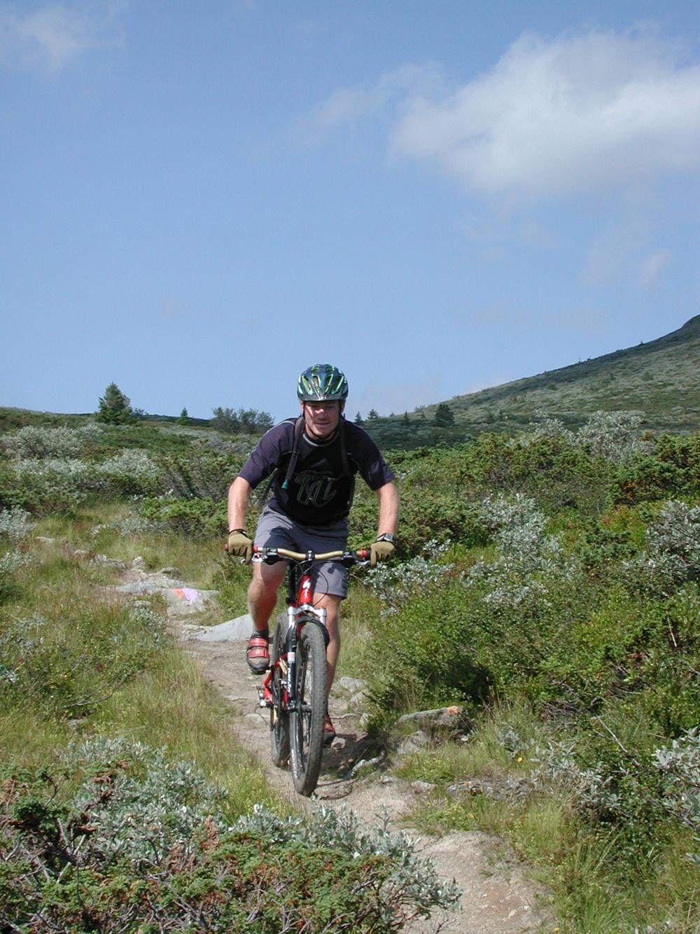 Skeikampen 0606 Åpning Syklist