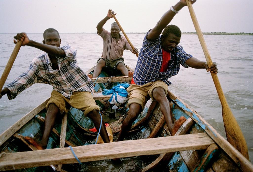 Tanzania Victoriasjøen 0902 Fiskere