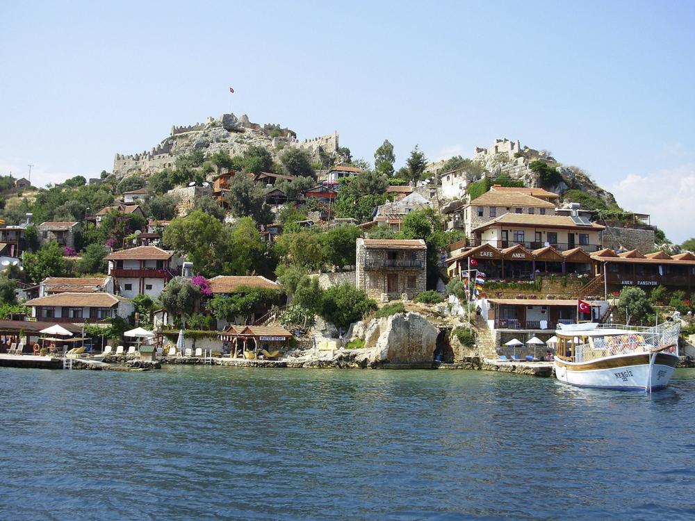 Tyrkia  Eksotiske 0708 Simena Island Antalya