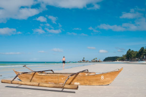 Den tropiske øya Boracay er et attraktivt, men lite utforsket ferieparadis.