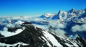 Nyt Alpenes flotte utsikt, klare luft og føl at du erhøyt, høyt oppe!