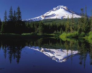 Mount Hood i Oregon, USA.