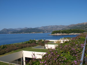 Litt av utsikten fra hotellet i Dubrovnik. Foto: Cristina Maria Solem