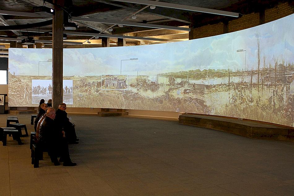 I oktober i 2014 kunne publikum vandre inn i et nytt opplevelsessenter i Nieuwepoort.