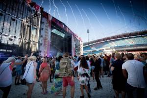Fra Summerburst-festivalen i Stockholm, Sverige.