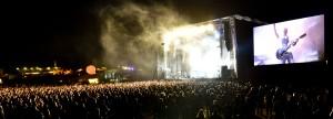 Sweden Rock i Blekinge, Sverige. Guns N' Roses-gitaristen Slash , og det legendariske, radiovennlige bandet Toto kommer hit i sommer.