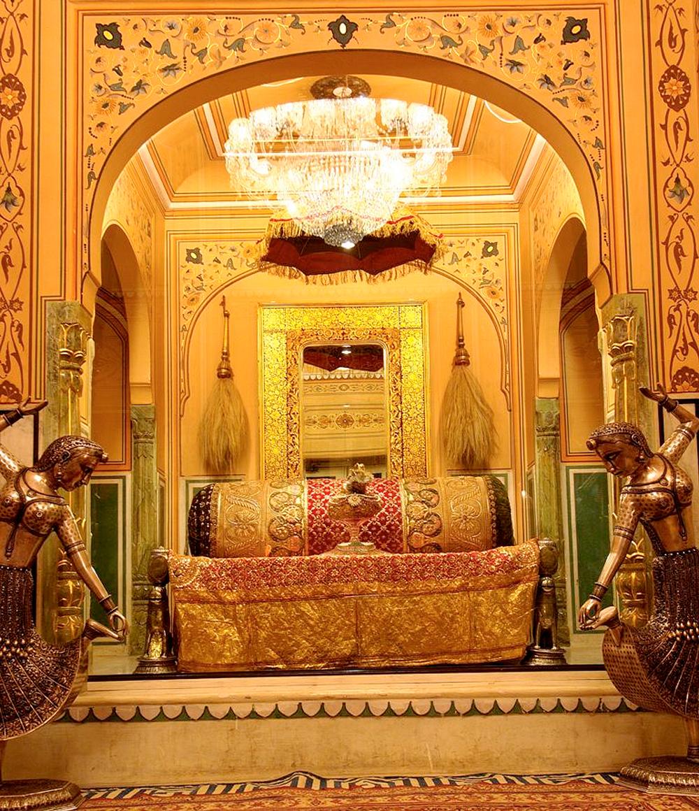 Raj Palace Hotel i Jaipur, India.