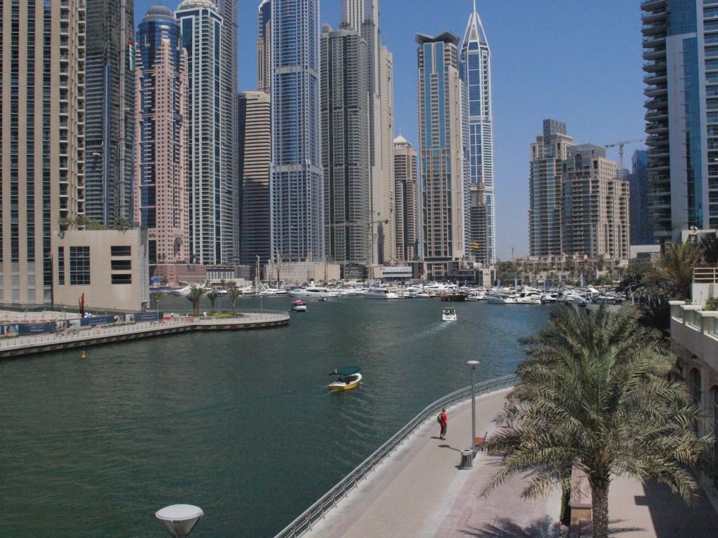 Dubai Marina Foto: Yvette-Marie Solem