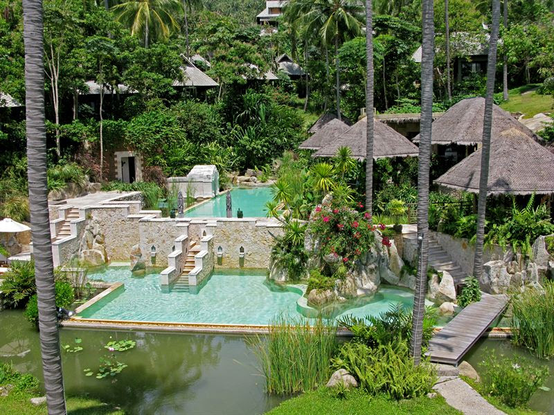 Kamalaya Resort på Koh Samui i Thailand.