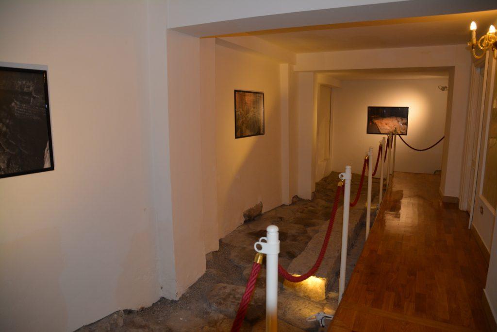 Bologna: Hotellets kjeller huser en arkeologisk hemmelighet. Foto: Yvette-Marie Solem