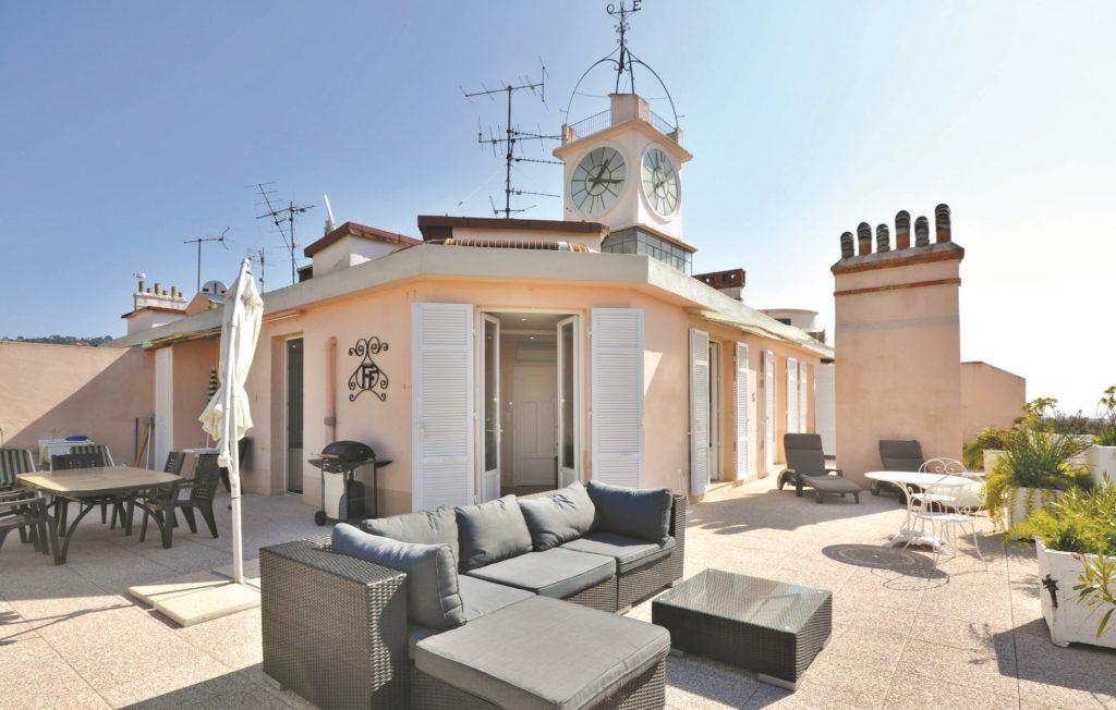 Frankrike: Lekker penthouseleilighet i filmbyen Cannes. Foto: Novasol