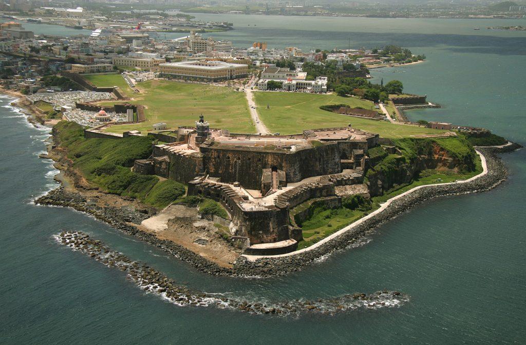 Karibien: Castillo de San Felipe del Morro i Puerto Rico