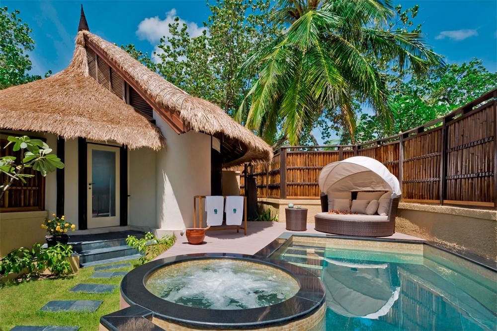BanyanTree Vabbinfaru Beach Front Pool Villa