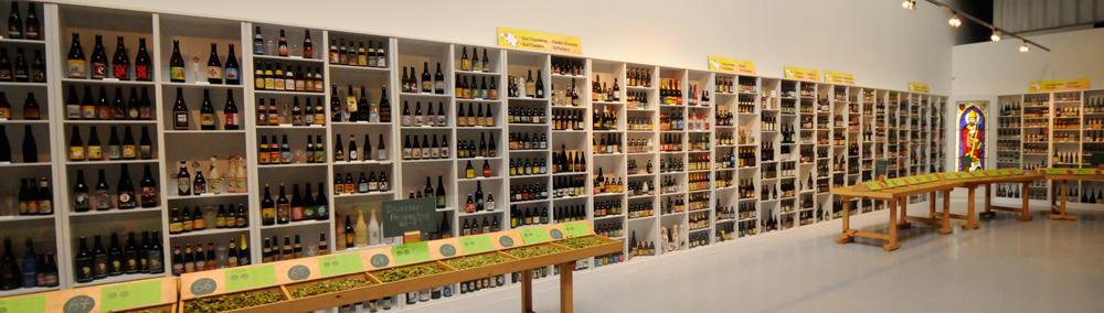 """Poperinge Hop Museum ligger i den gamle """"Stadsschaal"""", med fire etasjer av historie og kultur."""