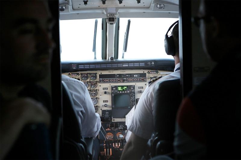 Med Flightradar24.com kan du søke opp og følge mange internasjonale fly, minutt for minutt.
