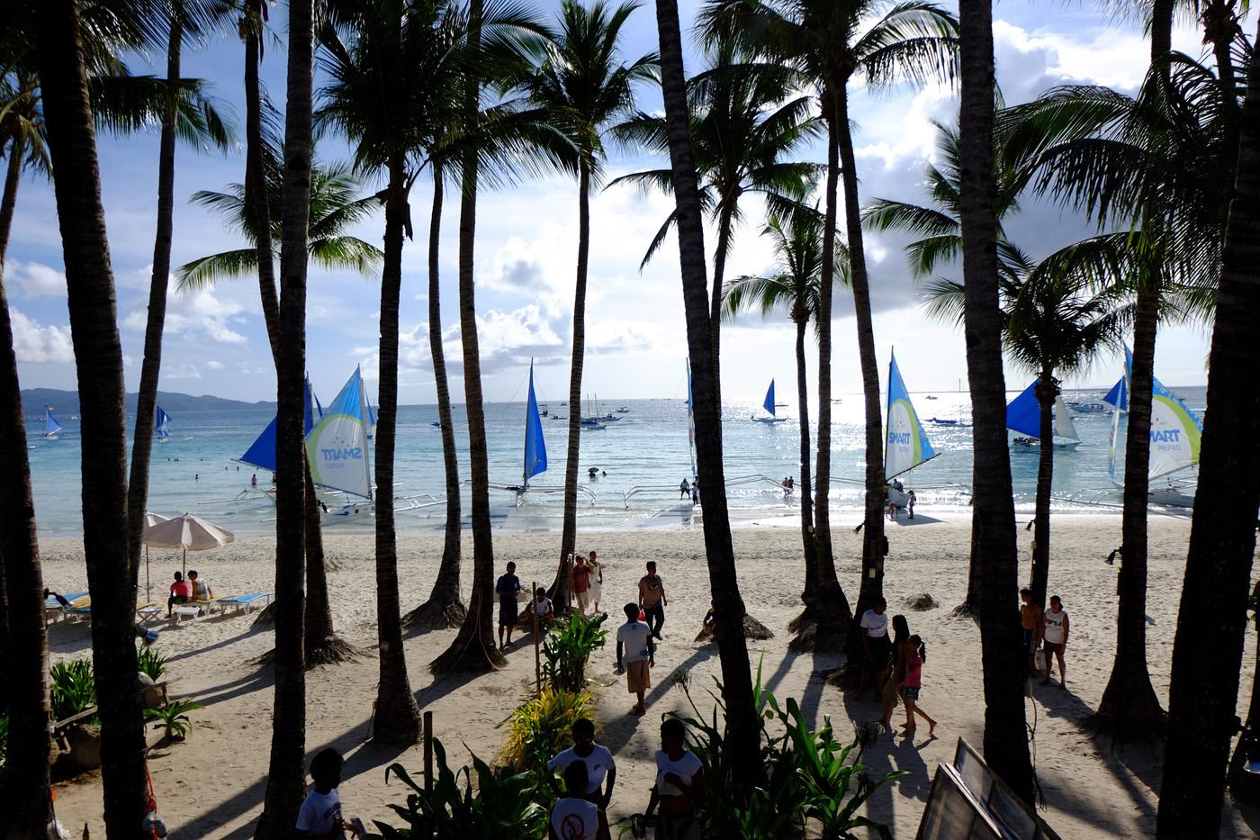 Med sitt varme klima er Boracay et opplagt valg over vinteren.