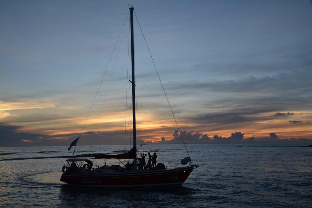Karibia: En tur ut på sjøen hører med når man reiser til Aruba. Foto: Yvette-Marie Solem