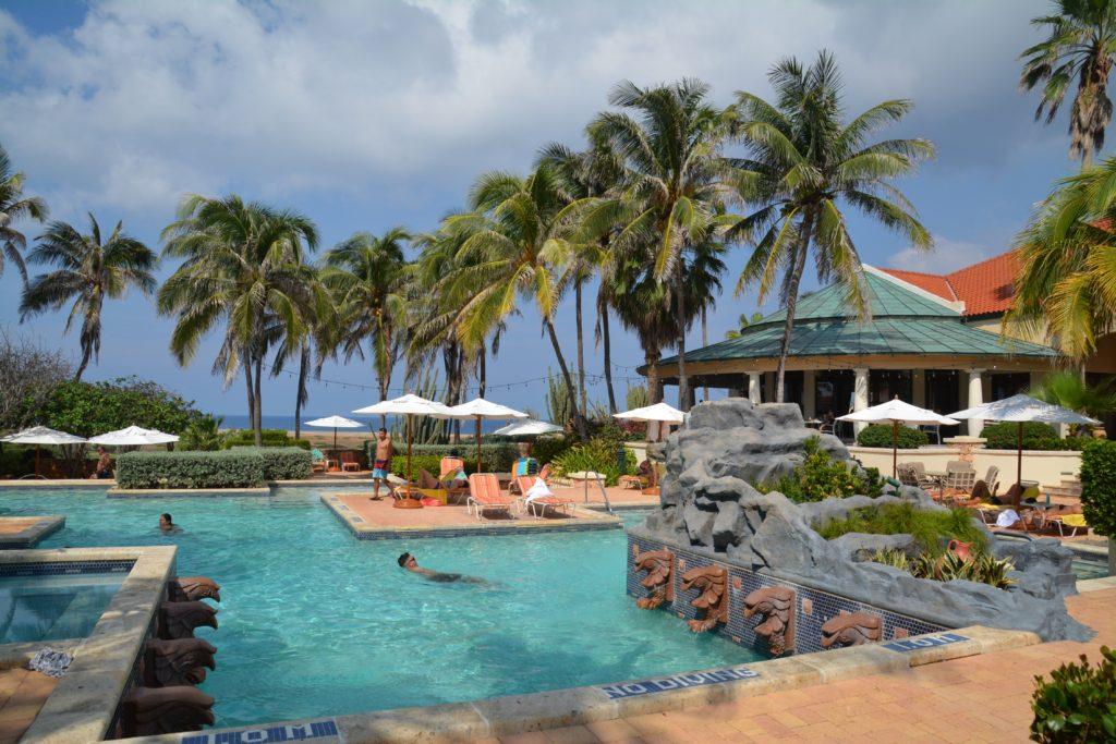 Karibia: Her nytes livet på Tierra del Sol Resort i Malmok som ligger nord i Aruba. Foto: Yvette-Marie Solem