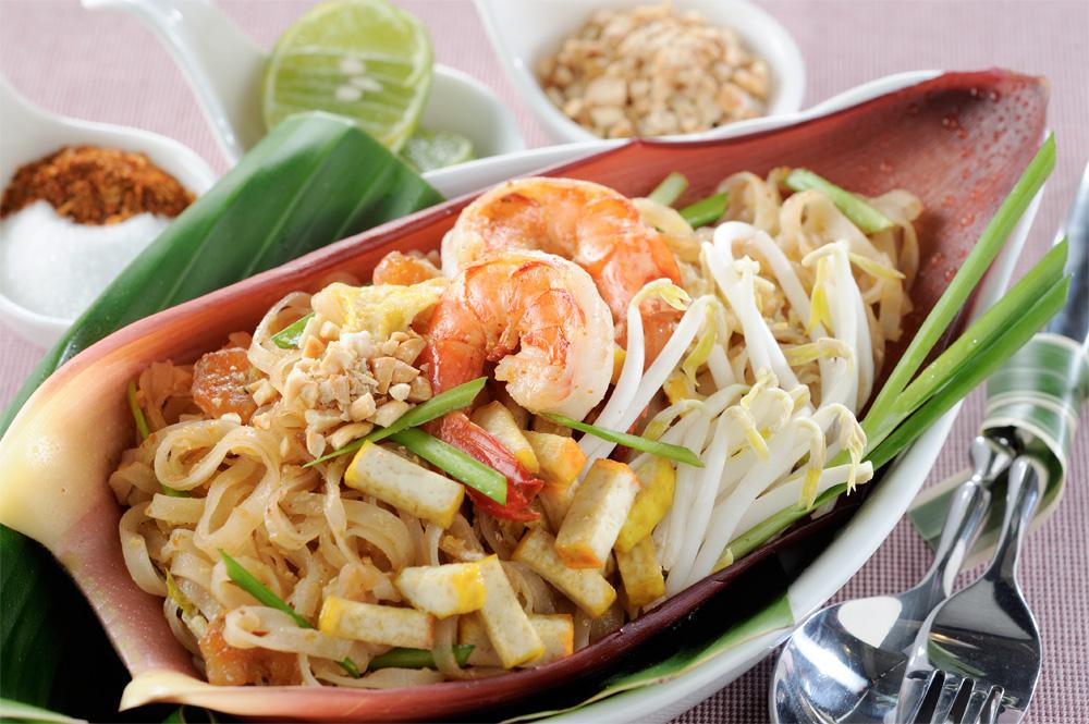 Tradisjonell thaimat, Pad-thai.
