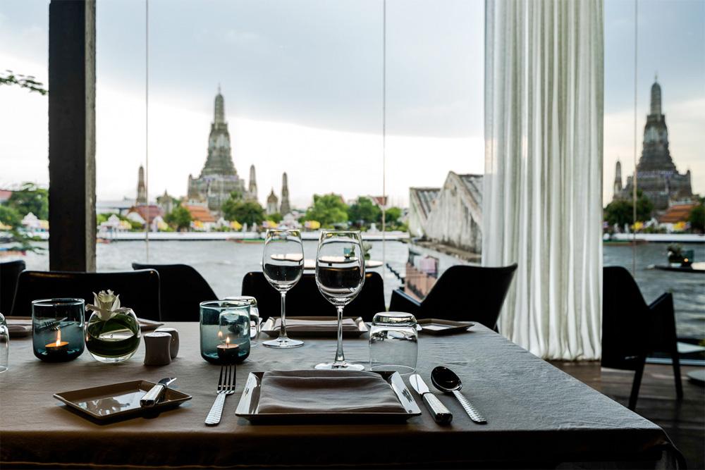 Sala restaurant i Bangkok.