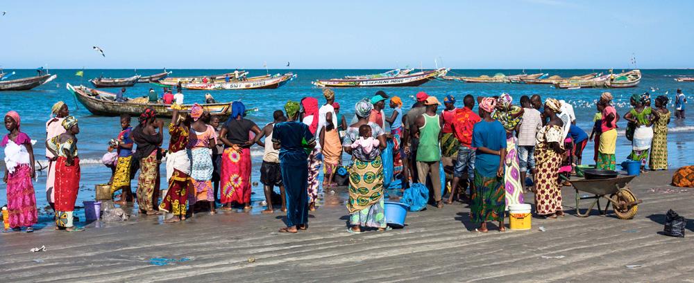 I byen Tanji, som er en liten fiskerlandsby sørvest for hovedstaden Banjul, kan du oppleve tradisjonell gambisk fiskerkultur.