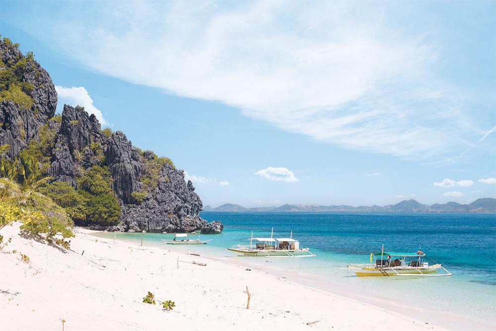 Øyhopping i Filippinene blitt riktig populært.