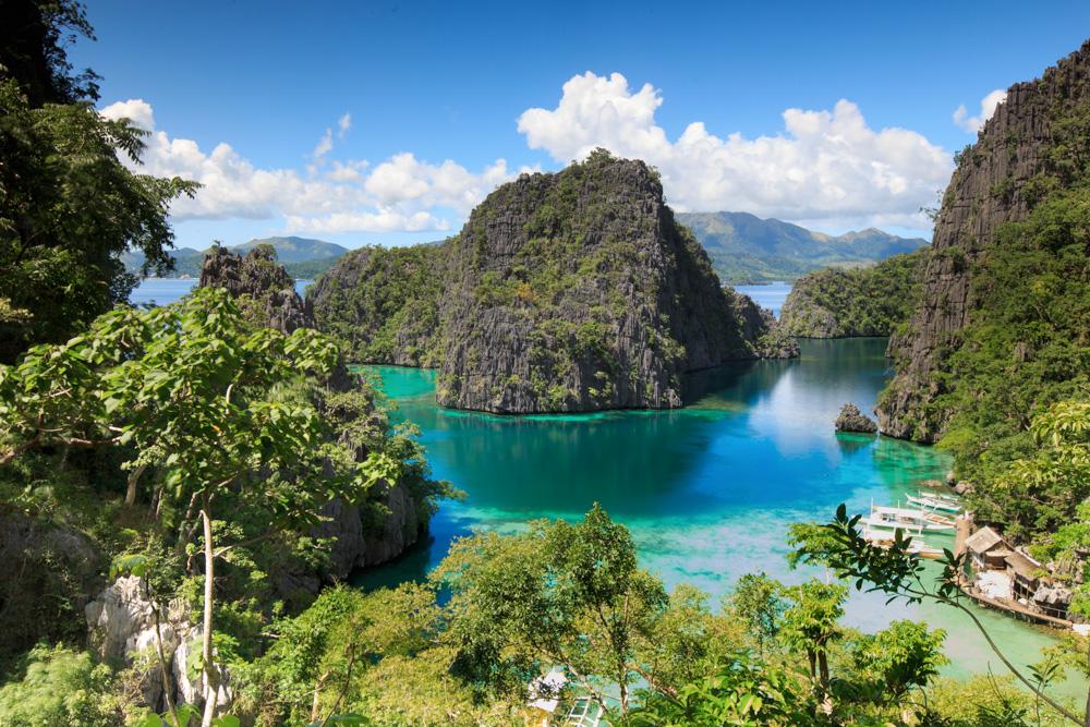 Vakre Palawan Black Island.